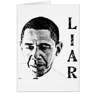 Obama the Liar Card
