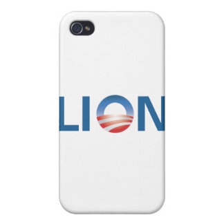 Obama the Lion iPhone 4 Cases