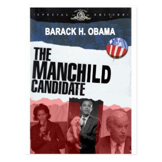Obama: The MANCHILD Candidate Postcard