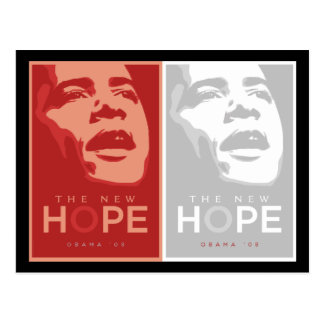 Obama 'The New Hope' Postcard