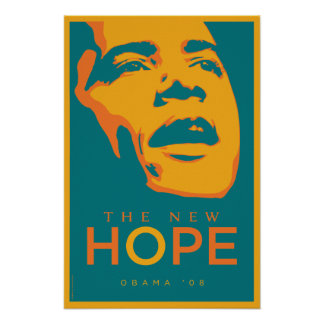 OBAMA: The New Hope_Teal Poster
