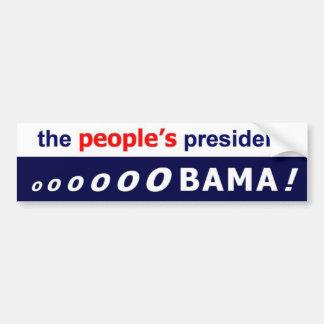 Obama, The People's President - Bumper Sticker