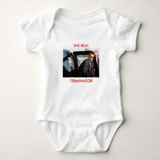 Obama - The Real Terminator - Customized Infant Creeper