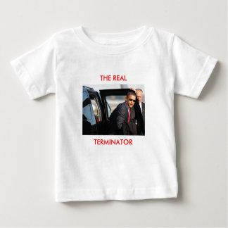 Obama - The Real Terminator - Customized Tee Shirts