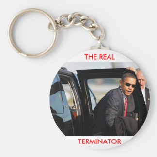 Obama - The Real Terminator Keychain