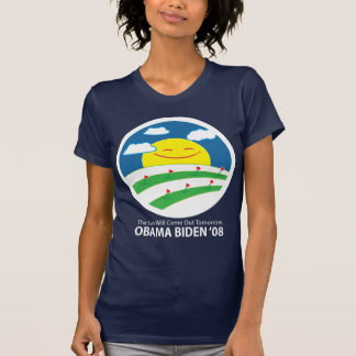 Obama, the sun will come out T-Shirt