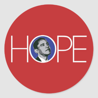 Obama: There is Hope Sticker