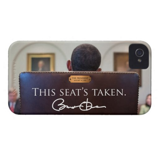 OBAMA: 'This Seat's Taken' iPhone 4 Case