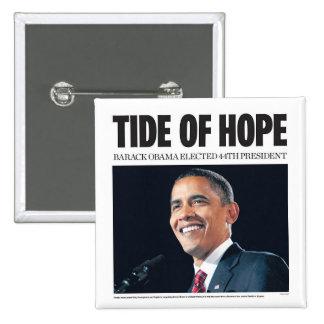 Obama: Tide of Hope Button