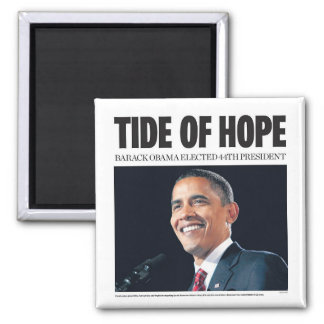 Obama Tide of Hope Magnet