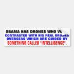 Obama tiene abejones que voten etiqueta de parachoque