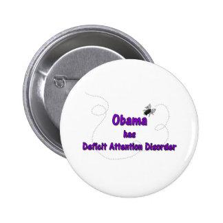 Obama tiene desorden de la atención del déficit pin