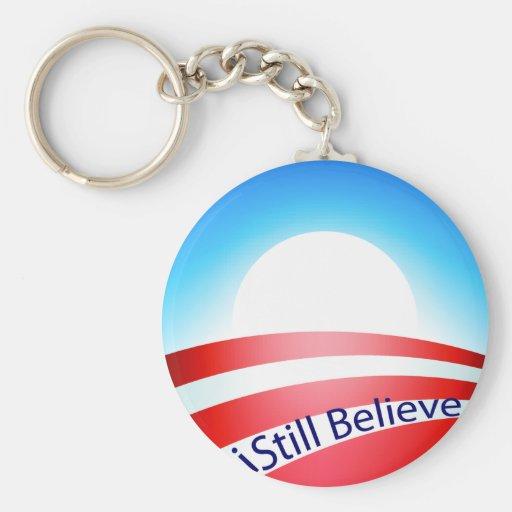 Obama - todavía creo llaveros personalizados