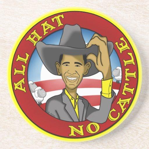 Obama todo el gorra ningún ganado posavasos cerveza