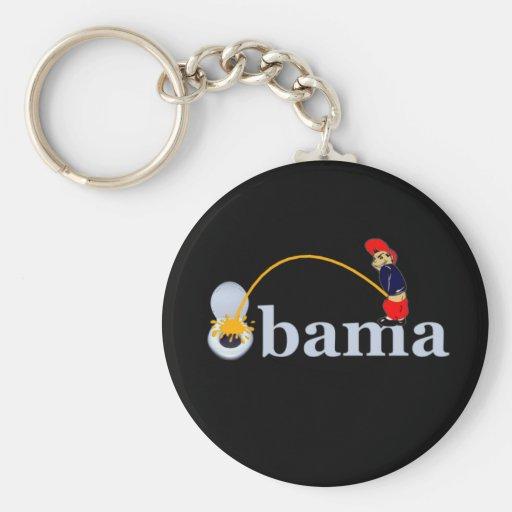 Obama (toilet) keychain