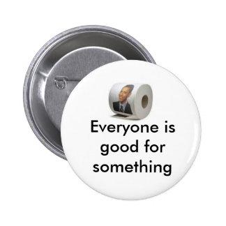 Obama toilet paper pin