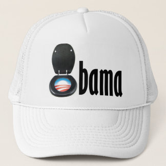 Obama (toilet) trucker hat