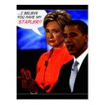 obama took my stapler post card