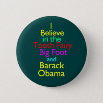 Obama Tooth Fairy Button