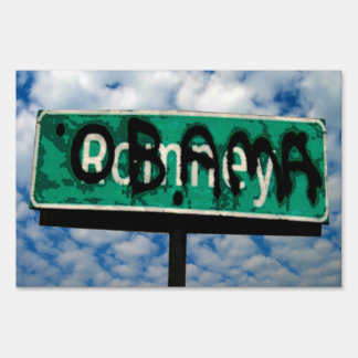 Obama Town Sign