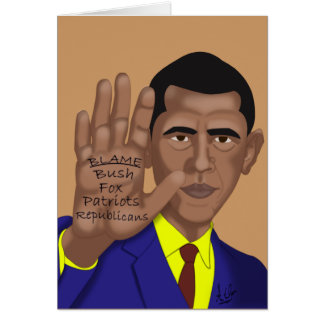 Obama Trades in Teleprompter Card