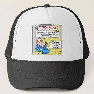 obama tragedies closer together trucker hat