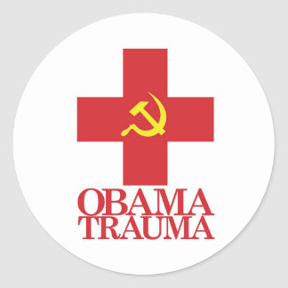 Obama Trauma Stickers