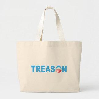 OBAMA TREASON LARGE TOTE BAG