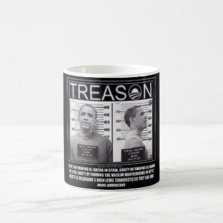 Obama Treason Morphing Mug