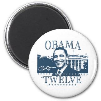 Obama 'Twelve 2 Inch Round Magnet