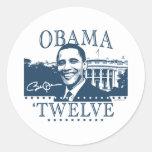 Obama 'Twelve Sticker