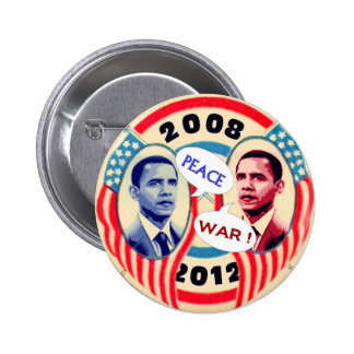 Obama Two-Face 2 Inch Round Button