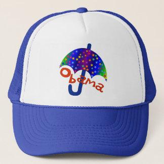 Obama Umbrella Inaguration Memento Trucker Hat