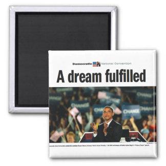 Obama: Un imán satisfecho sueño del convenio