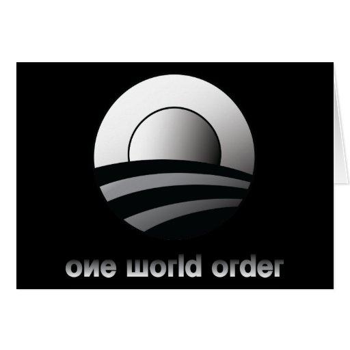 Obama un orden mundial felicitacion