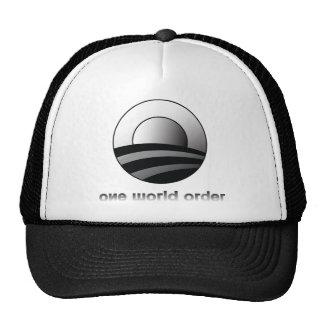 Obama un orden mundial gorras de camionero