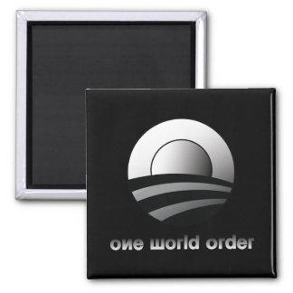 Obama un orden mundial imanes de nevera