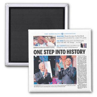 Obama: Un paso en historia Iman De Nevera
