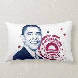 Obama: Una más vez y una original americana Almohada