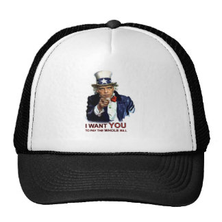 Obama Uncle Sam Wants You Trucker Hat