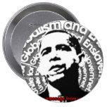 Obama Unite for Globalism & Enslavement Buttons