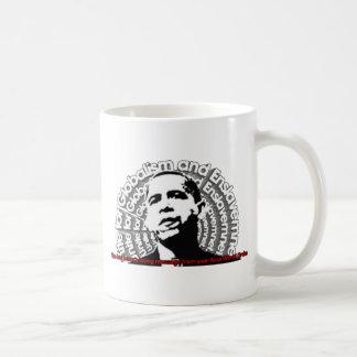 Obama Unite for Globalism & Enslavement Mugs