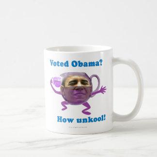 Obama unkool classic white coffee mug