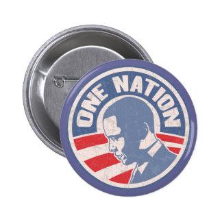 obama-uno-nación-T Pin Redondo 5 Cm