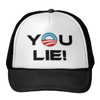 Obama usted miente gorra