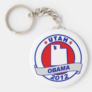Obama - utah keychain