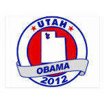 Obama - Utah Tarjeta Postal