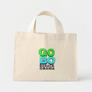 Obama VA bolso de BO Bolsa Tela Pequeña