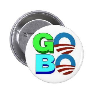 Obama VA botón de BO Pin Redondo De 2 Pulgadas