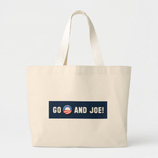 "¡Obama - van ""O"" y Joe! Bolsa Tela Grande"